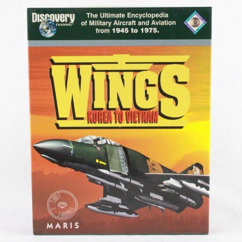 Wings: Korea to Vietnam - Discovery Channel - Encyclopedia (PC Big Box)