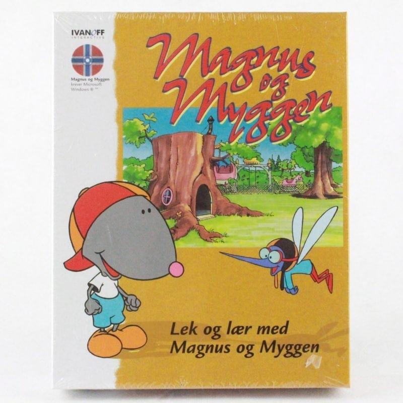Lek og lær med Magnus og Myggen (PC Big Box - Norsk)