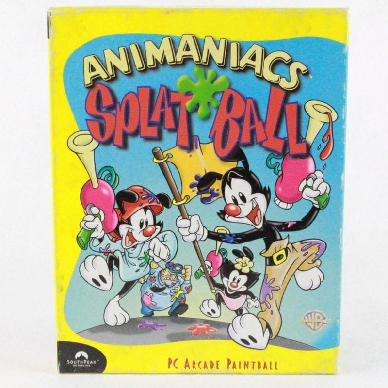 Animaniacs Splat Ball (PC Big Box, 1999)
