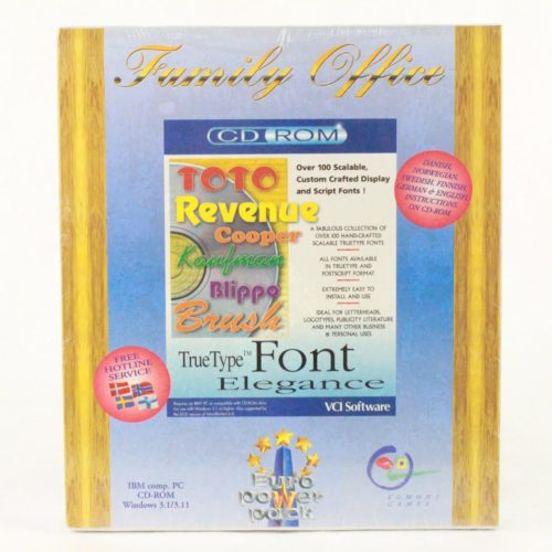 Familiy Office - Font (PC, VCI Software, Euro Power Pack)