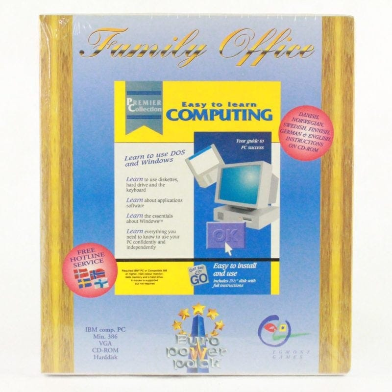 Familiy Office - Easy To Learn Computing (PC, VCI Software, Euro Power Pack)