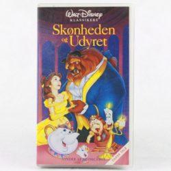 Skønheden og Udyret - Disney (VHS - Dansk tale)