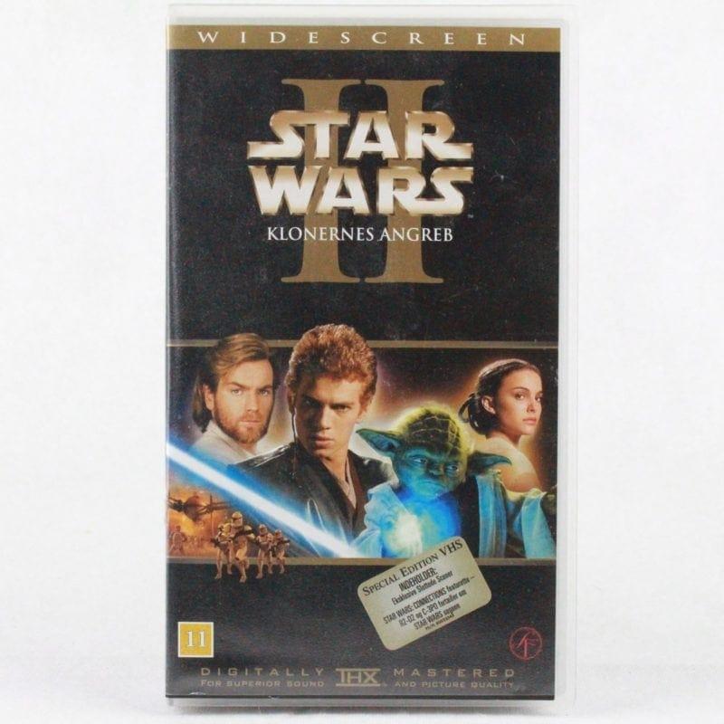 Star Wars Episode II: Klonernes angreb (VHS - Dansk tekst)