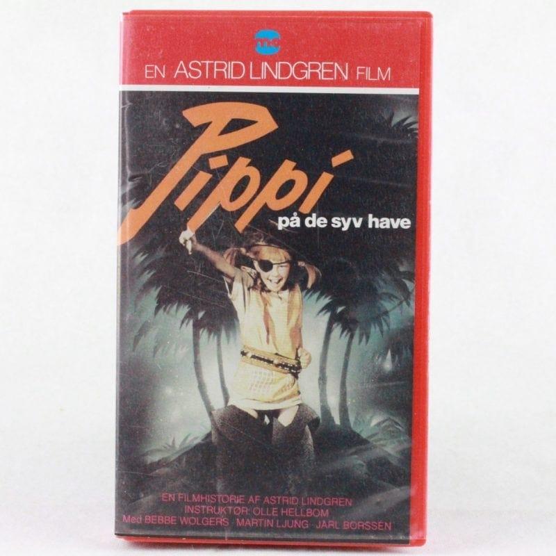 Pippi på de syv have (VHS - Dansk fortæller/tekst)