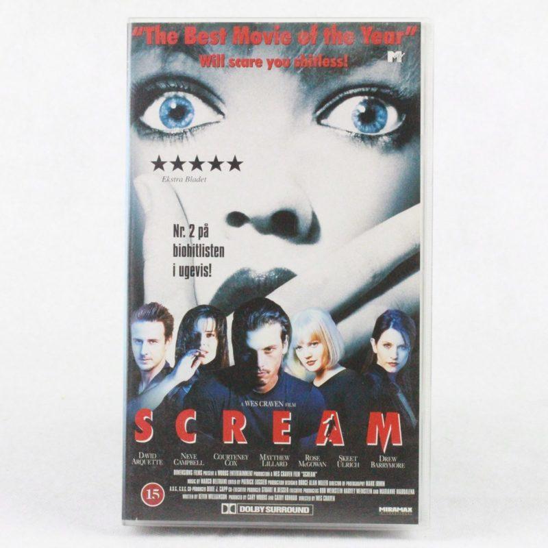 Scream (VHS - Dansk tekst)