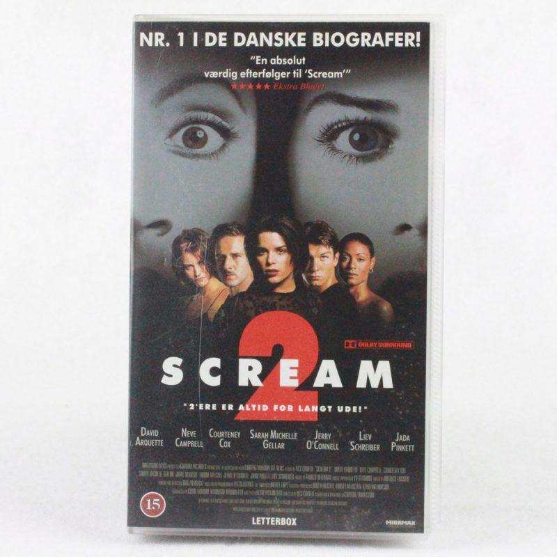 Scream 2 (VHS - Dansk tekst)
