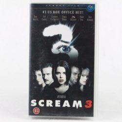 Scream 3 (VHS - Dansk tekst)