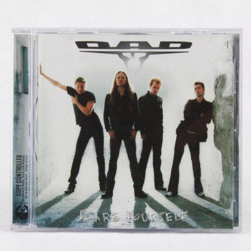 D-A-D: Scare Yourself (CD)