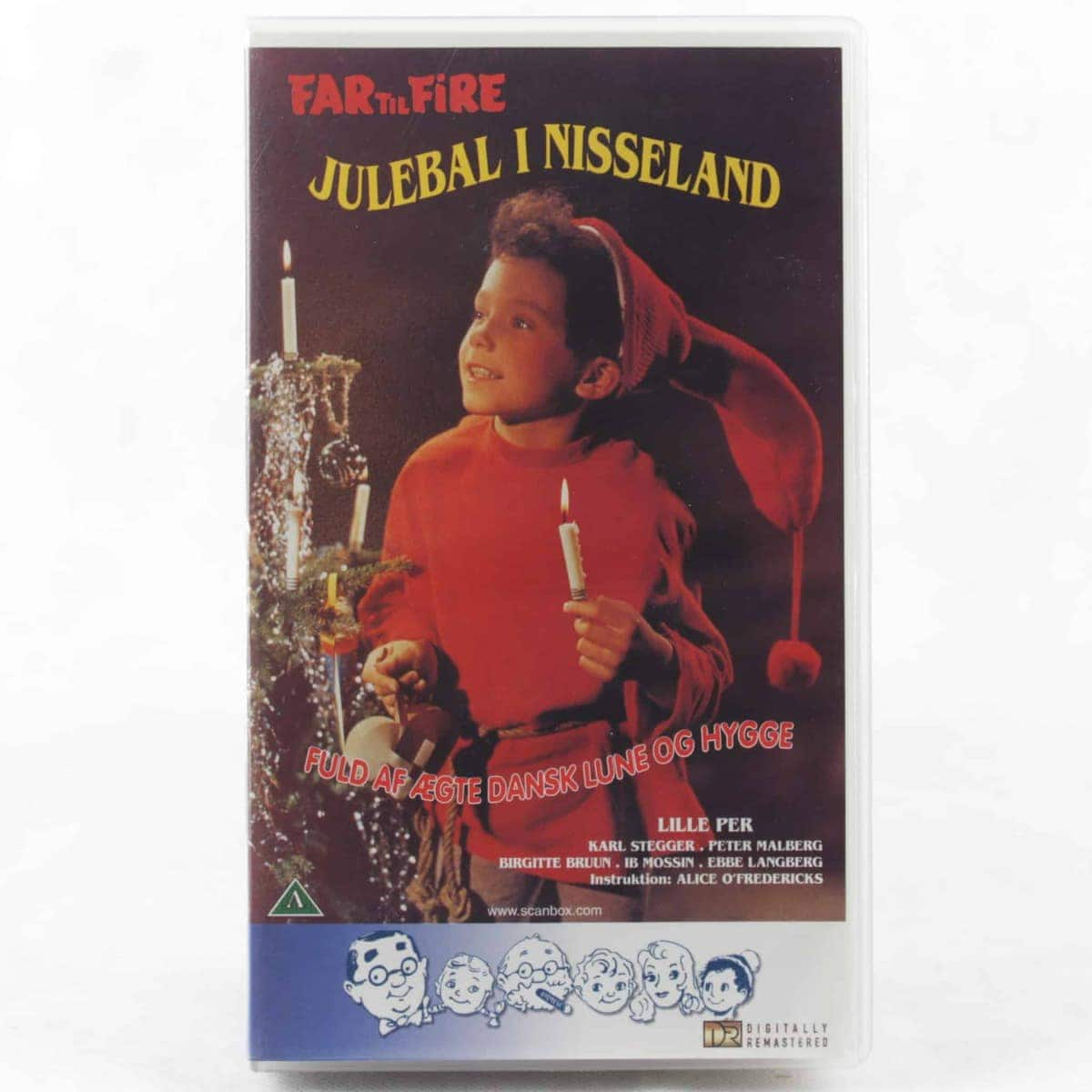 Far til Fire - Julebal i Nisseland (VHS)