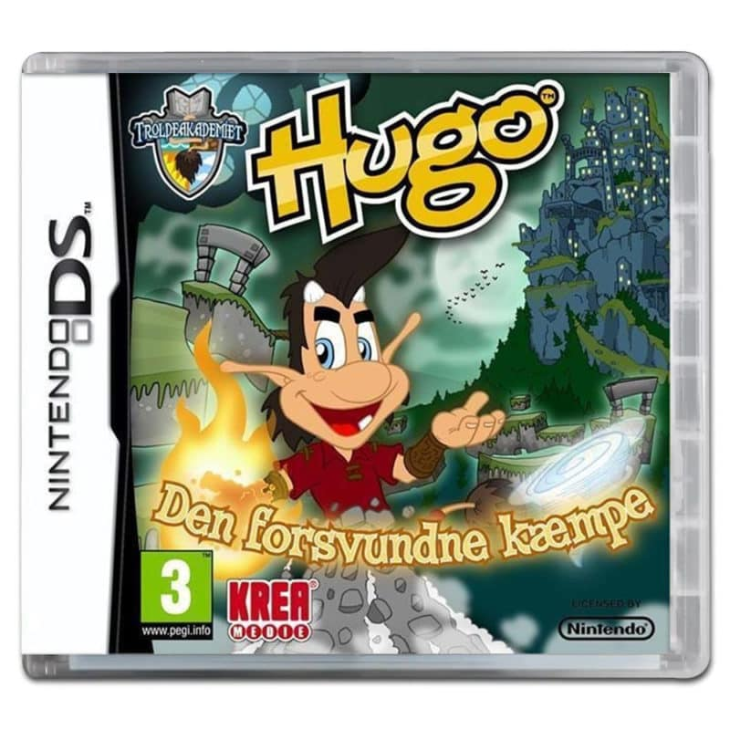 Hugo: Den forsvundne kæmpe (Nintendo DS)