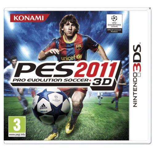 Pro Evolution Soccer 2011 3D (Nintendo 3DS)
