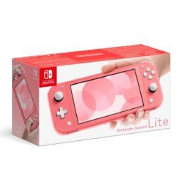 Nintendo Switch Lite konsol - Coral