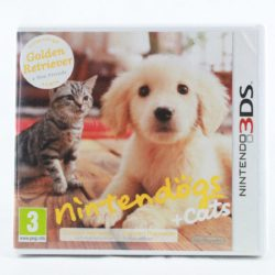 Nintendogs + Cats: Golden Retriever & New Friends (Nintendo 3DS)