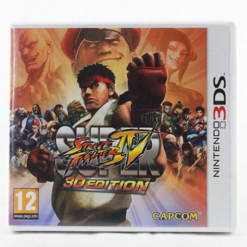 Super Street Fighter IV (Nintendo 3DS)