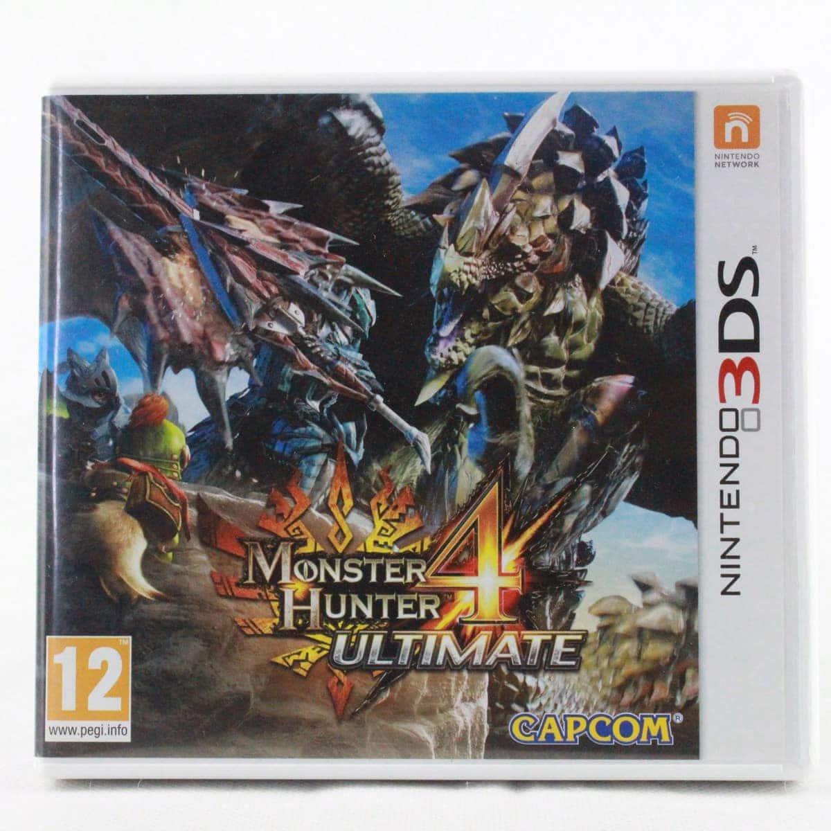 Monster Hunter 4: Ultimate (Nintendo 3DS)