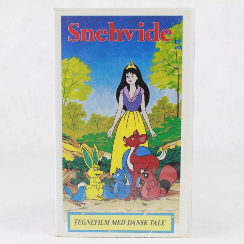 Snehvide (VHS - Dansk tale)
