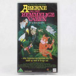 Aberne og the hemmelige våben (VHS - Dansk tale)