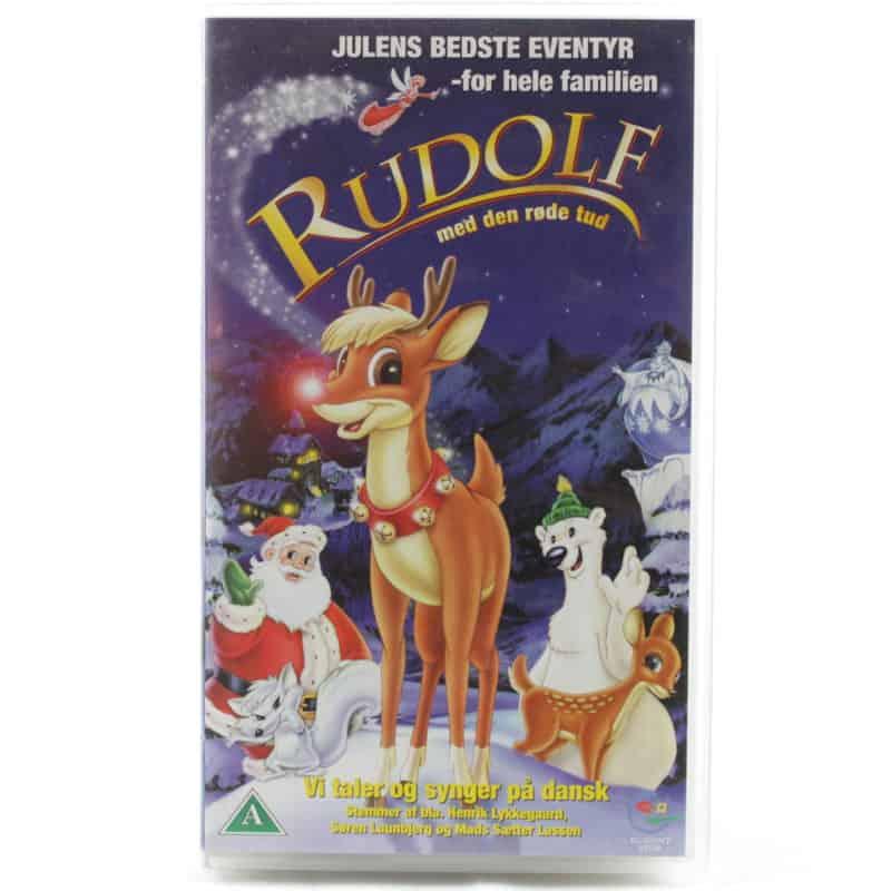 Rudolf med den røde rud (VHS - Dansk tale)