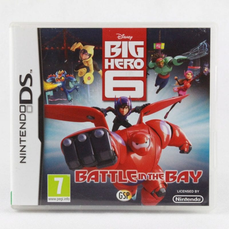 Big Hero 6: Battle In The Bay (Nintendo DS)