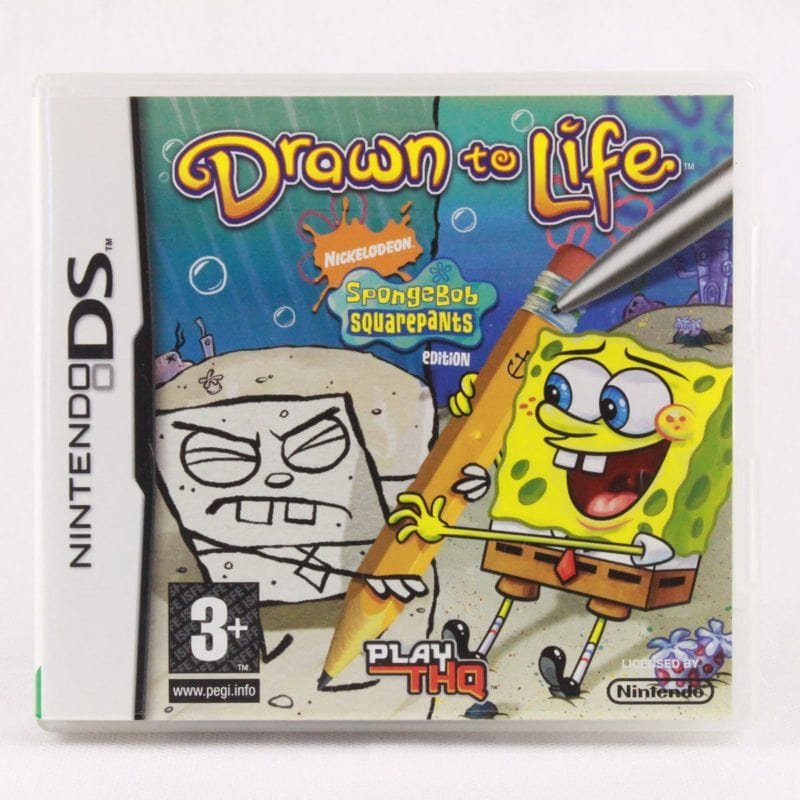 Drawn to Life: SpongeBob SquarePants Edition (Nintendo DS)
