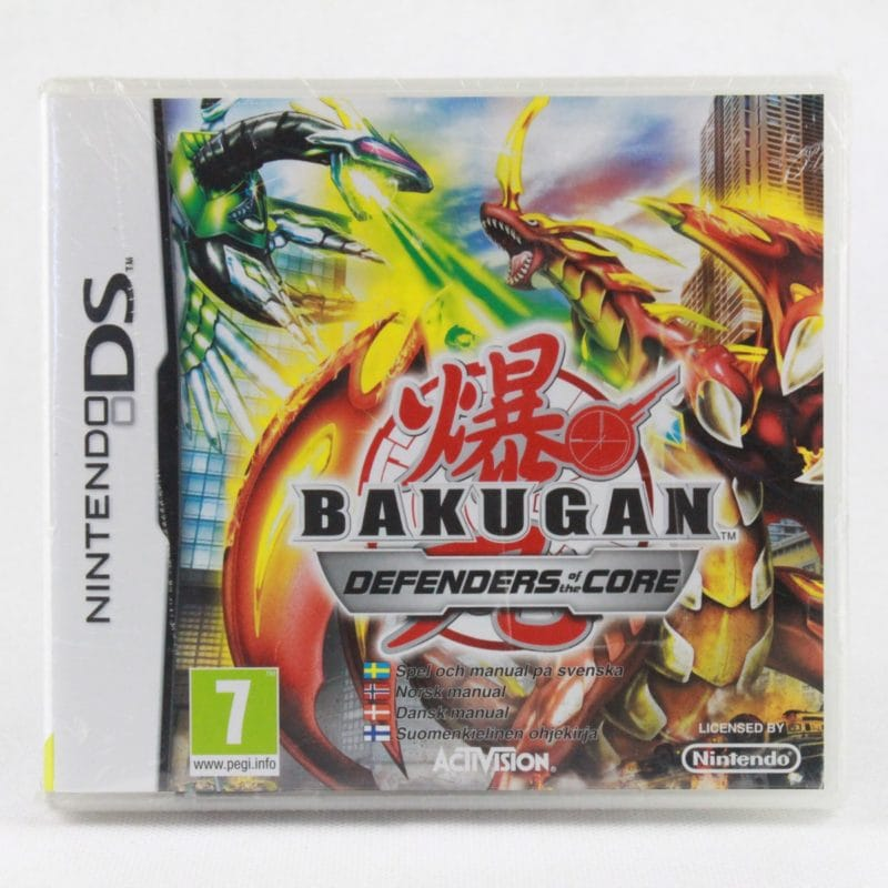 Bakugan: Defenders of the Core (Nintendo DS)