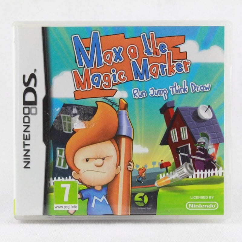 Max & the Magic Marker (Nintendo DS)