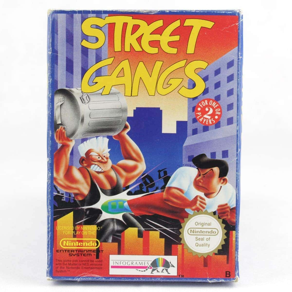 Street Gangs (Nintendo NES, Boxed, PAL-B)