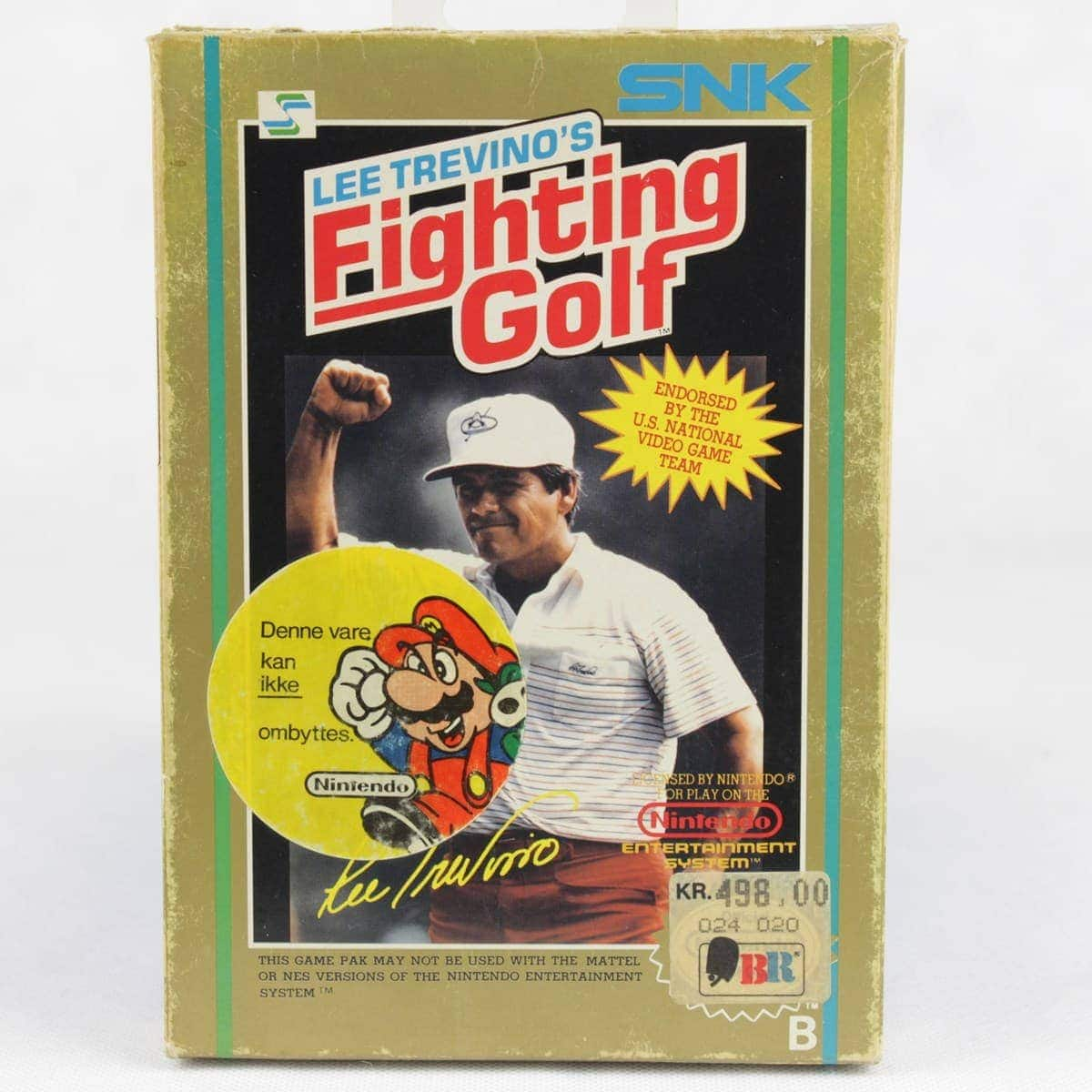 Lee Trevino's Fighting Golf (Nintendo NES, Boxed, PAL-B, SCN)