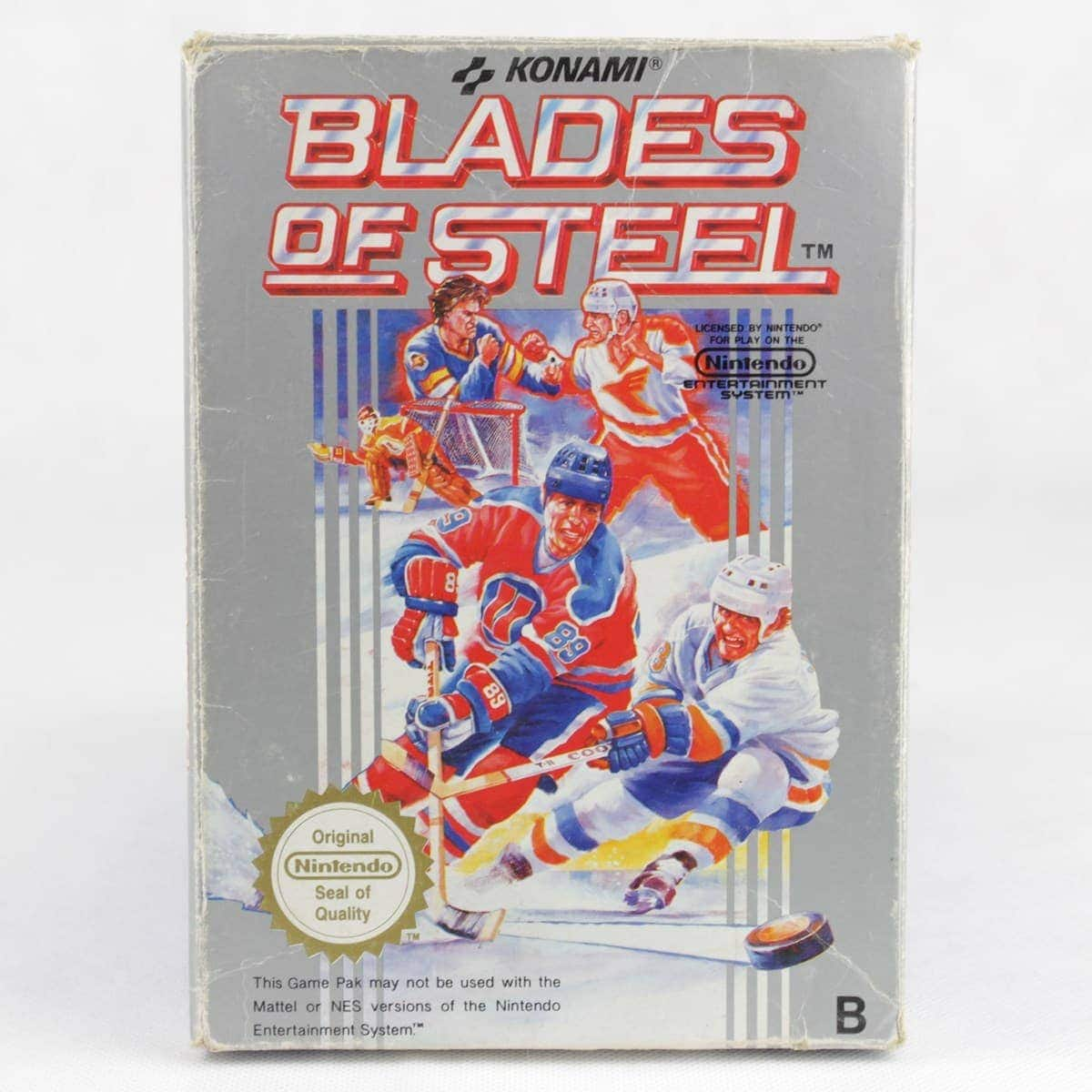 Blades of Steel (Nintendo NES, Boxed, PAL-B, SCN)