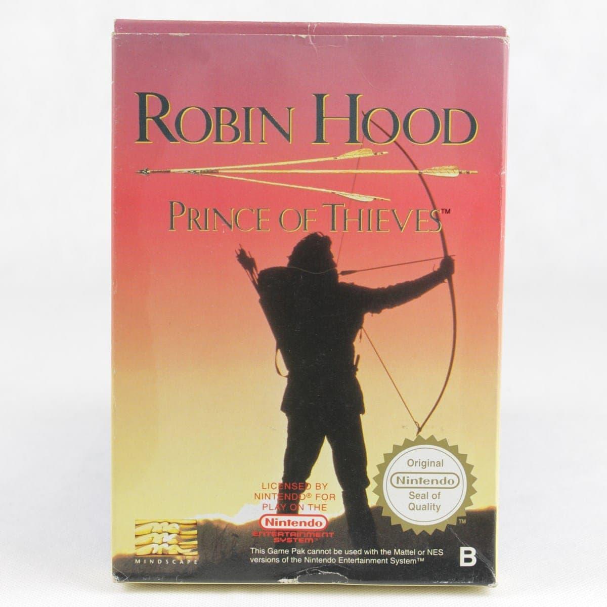 Robin Hood: Prince of Thieves (Nintendo NES, CIB, PAL-B)