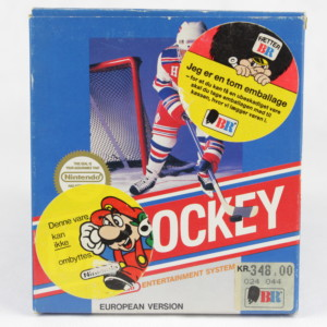 Ice Hockey (Nintendo NES, Small Box, PAL-B, SCN)