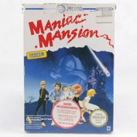Maniac Mansion (Nintendo NES, Boxed, PAL-B, SWE)