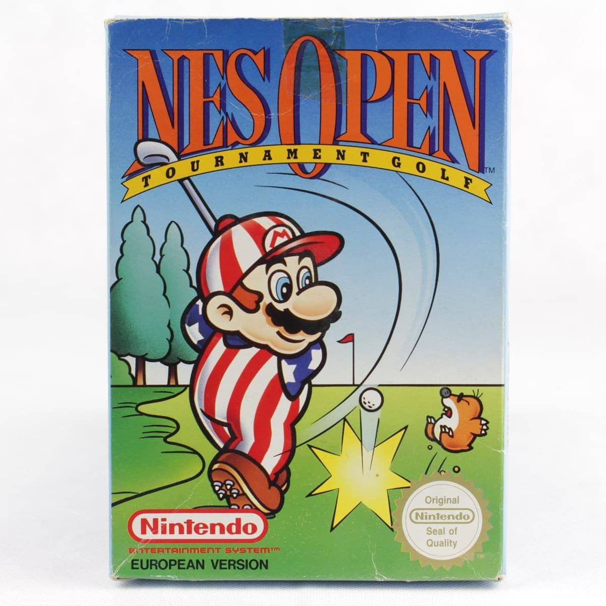 NES Open Tournament Golf (Nintendo NES, Boxed, PAL-B, SCN)