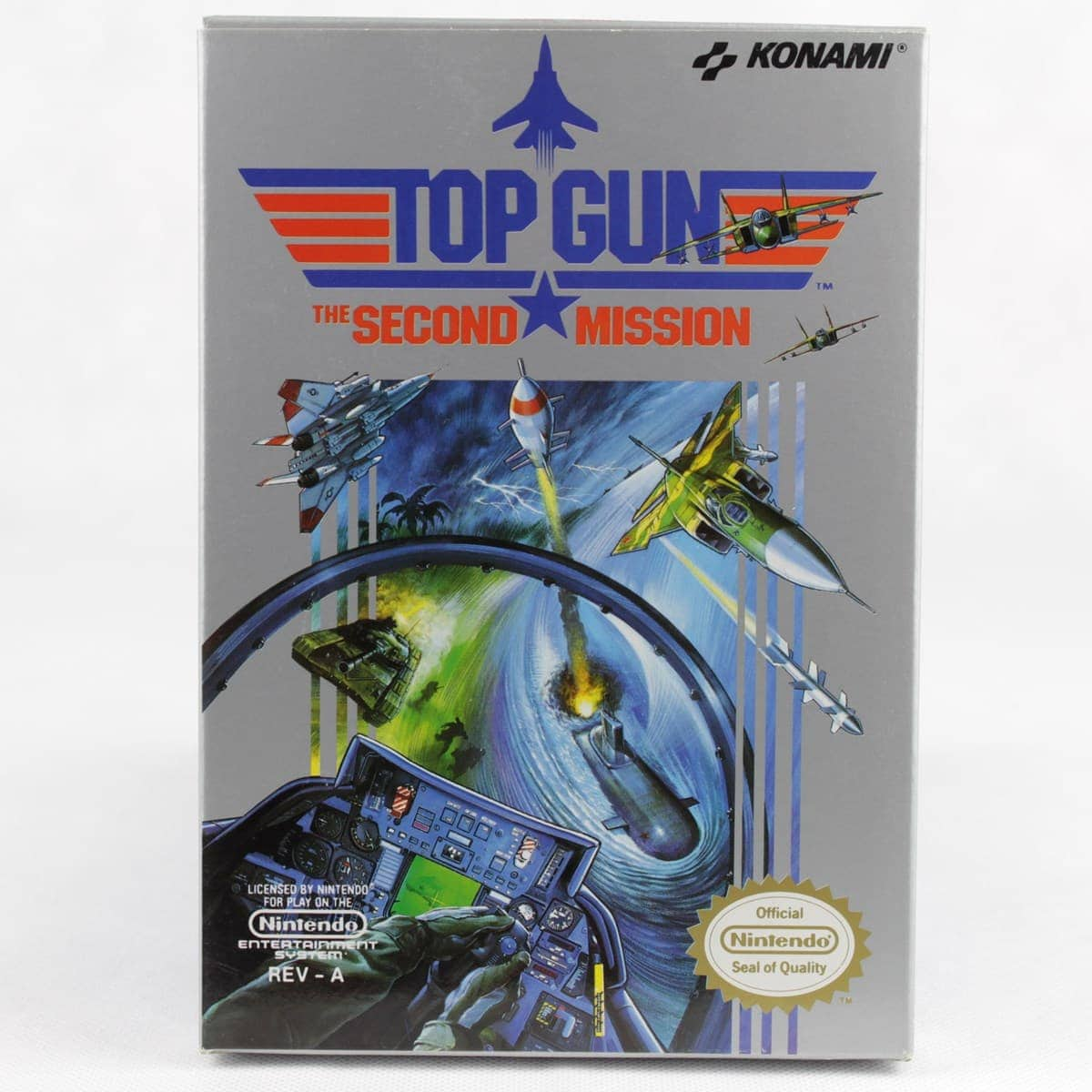 Top Gun: The Second Mission (Nintendo NES, Boxed, USA)