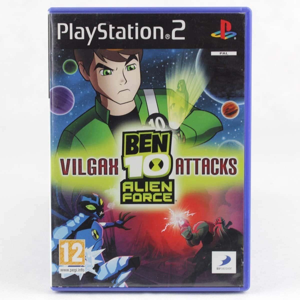 Ben 10: Alien Force - Vilgax Attacks (PS2)