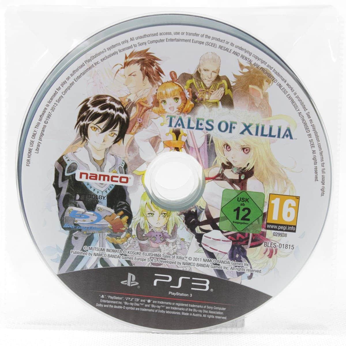 Tales of Xillia (PS3 - CD)