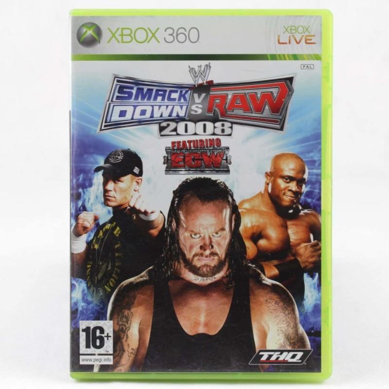 WWE Smackdown vs. Raw 2008 (Xbox 360)