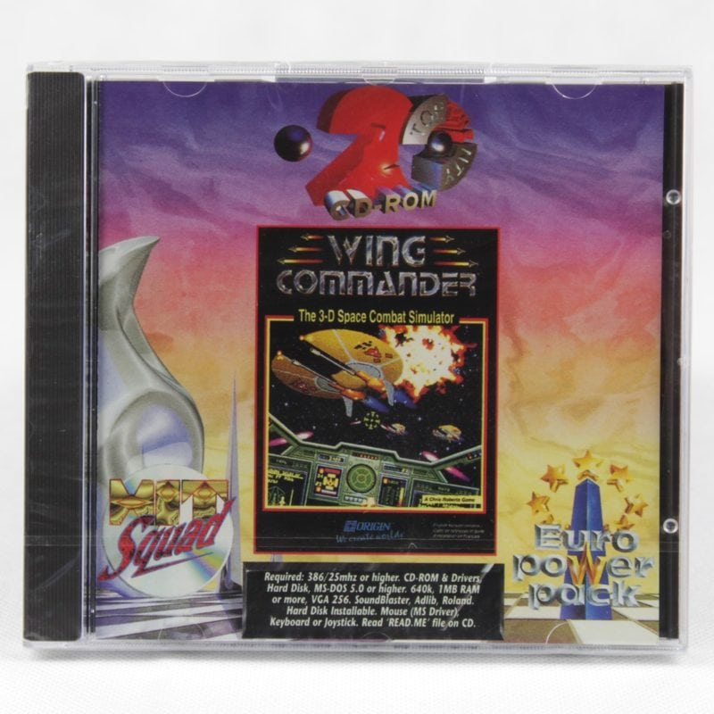 Wing Commander (PC Jewelcase - Euro Power Pack)