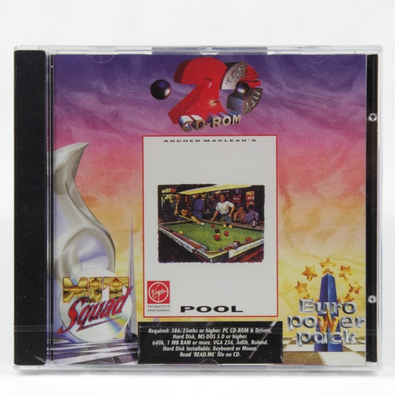 Archer Maclean's Pool (PC Jewelcase - Euro Power Pack)