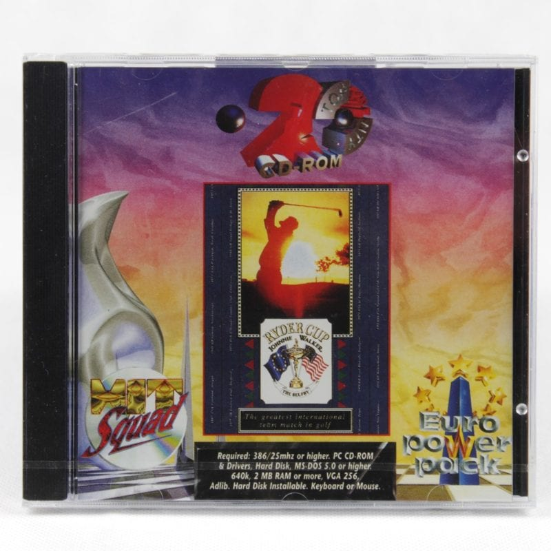 Ryder Cup: Johnnie Walker (PC Jewelcase - Euro Power Pack)