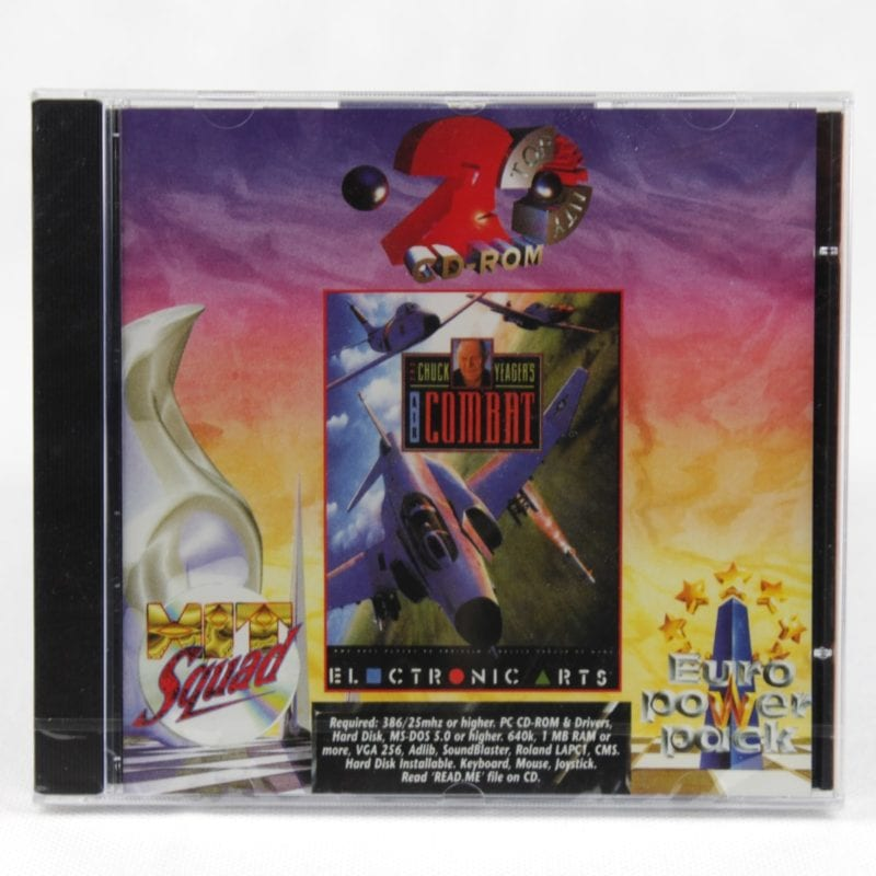 Chuck Yeager's Air Combat (PC Jewelcase - Euro Power Pack)