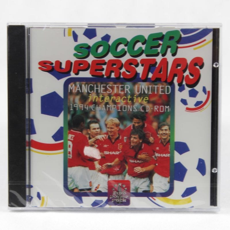 Soccer Superstars - Manchester United Interactive 1994 Champions CD-ROM (PC Jewelcase)