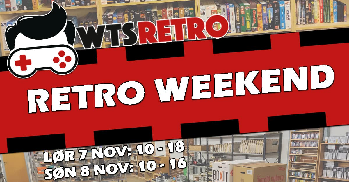 Retro Weekend hos WTS Retro 7 og 8 november