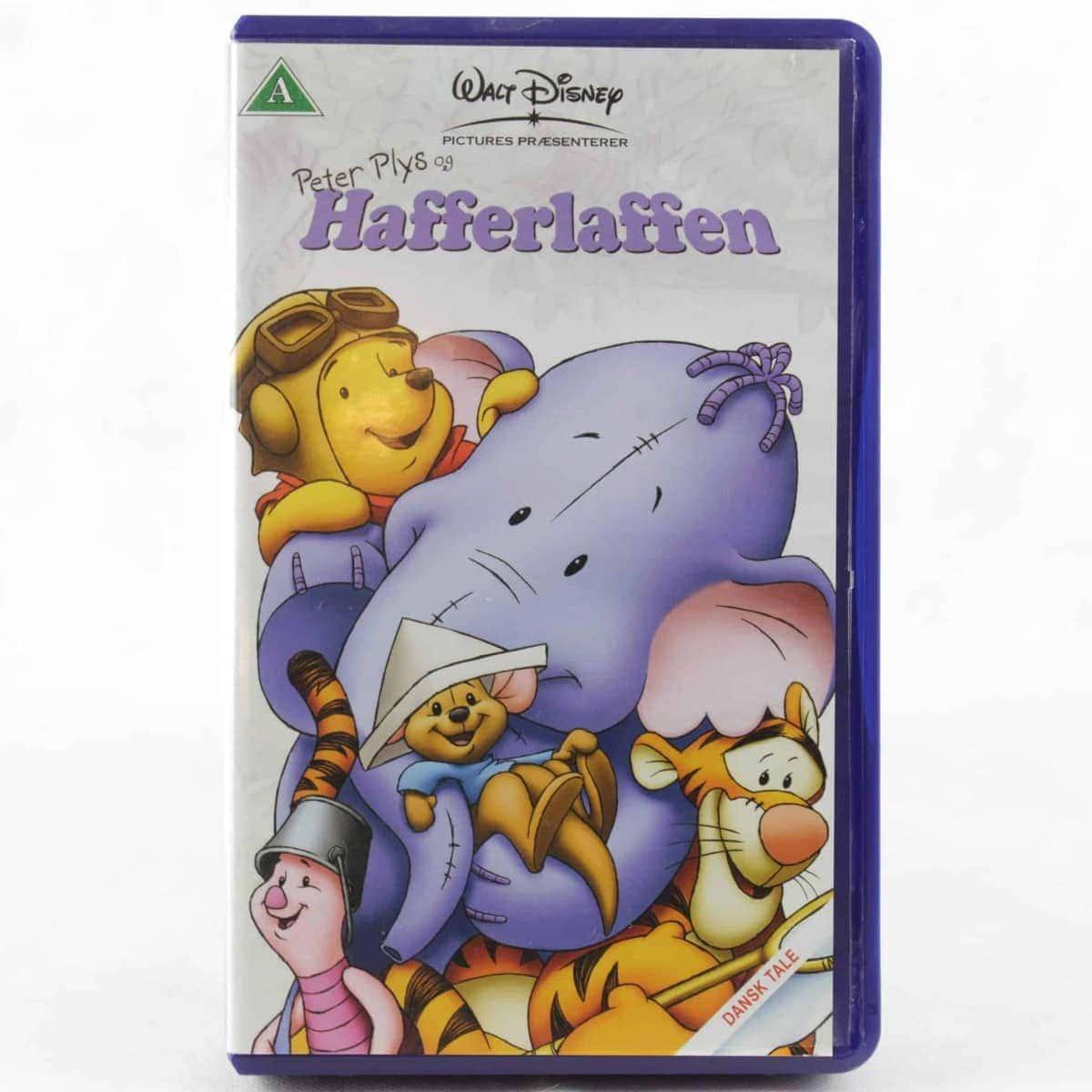 Peter Plys og Hafferlaffen (VHS - Dansk Tale)