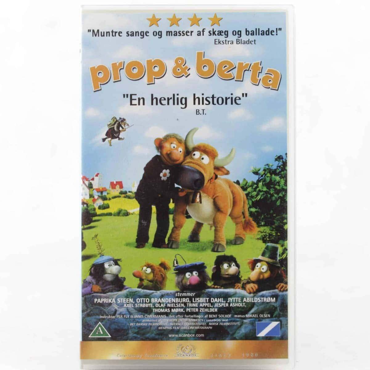 Prop & Berta (VHS - Dansk tale)