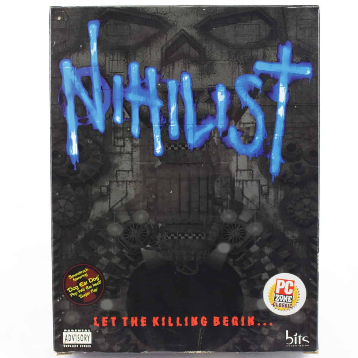 Nihilist (PC Big Box, 1996, DOS, Bits Corporation / Philips Interactive)