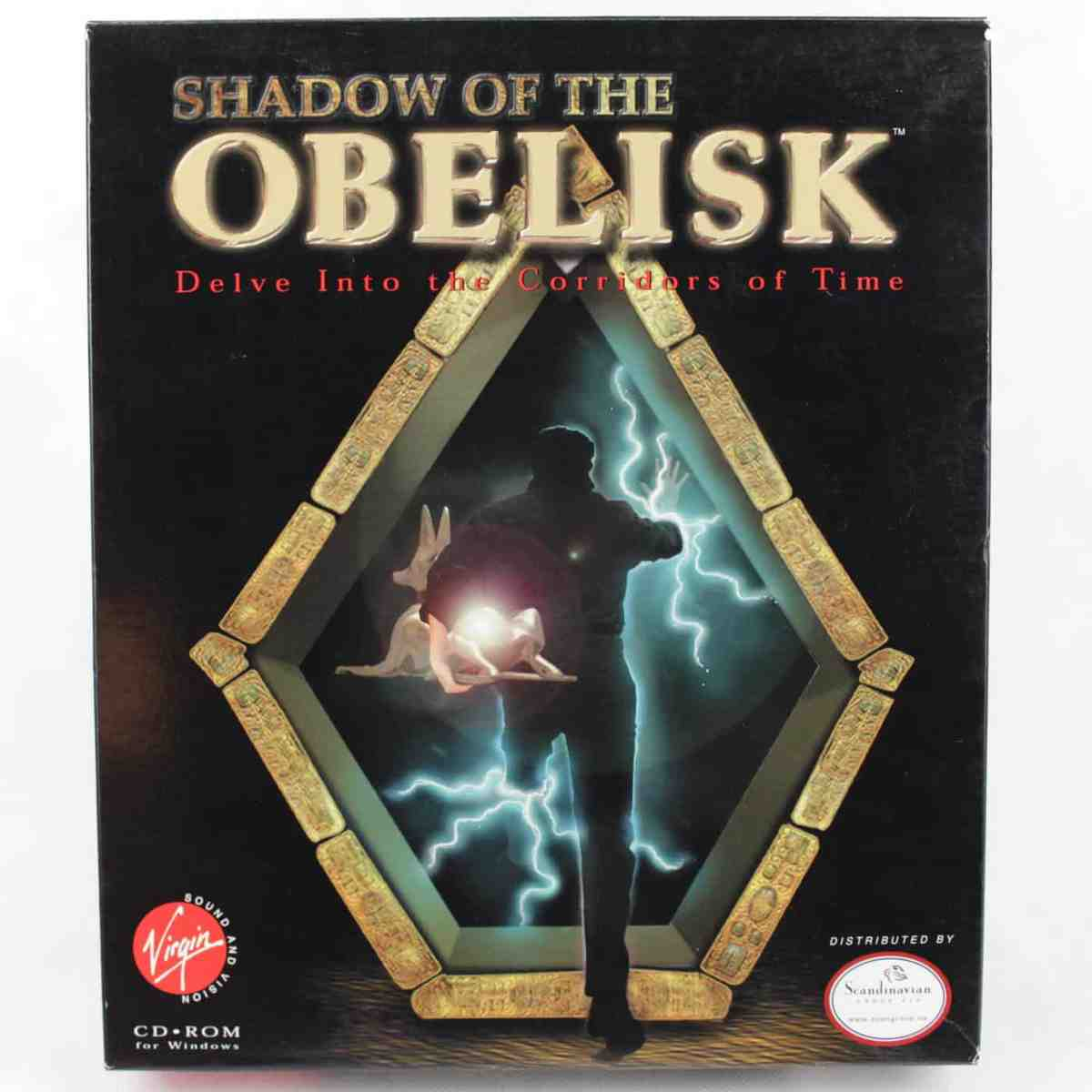 Shadow of the Obelisk a.k.a Beyond Time (PC Big Box, 1997, CD-ROM)