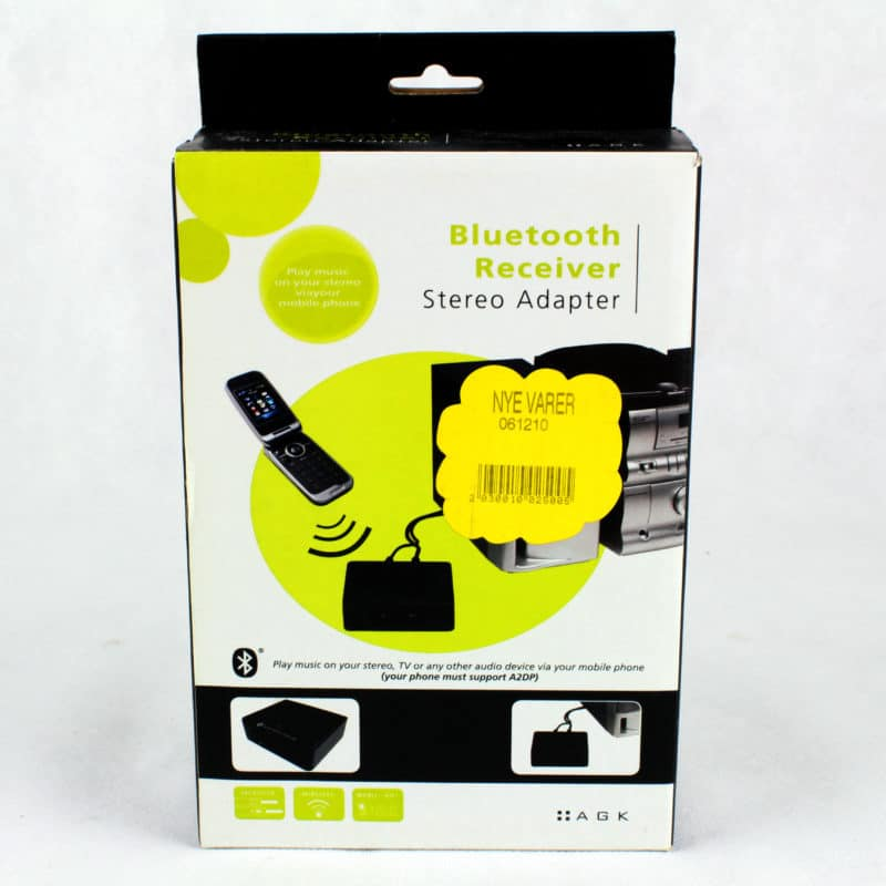 AGK Bluetooth Receiver Stereo Adapter