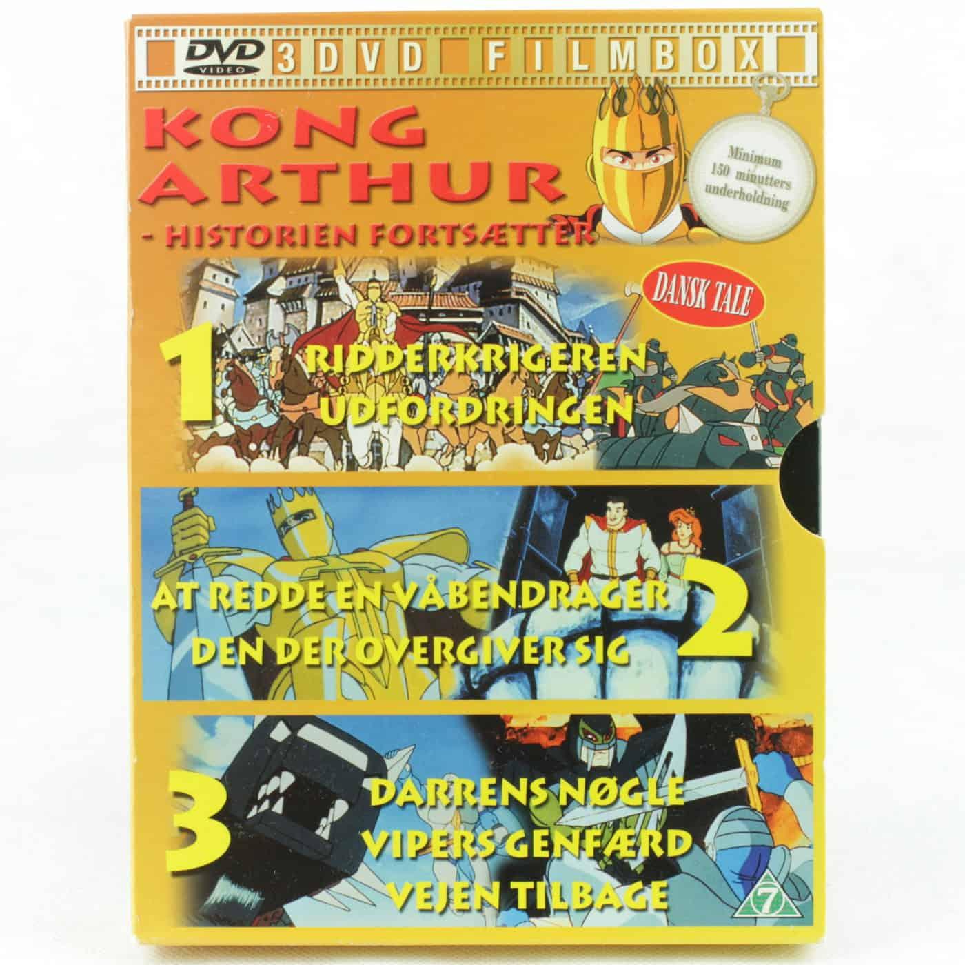 Kong Arthur 3 DVD Filmbox