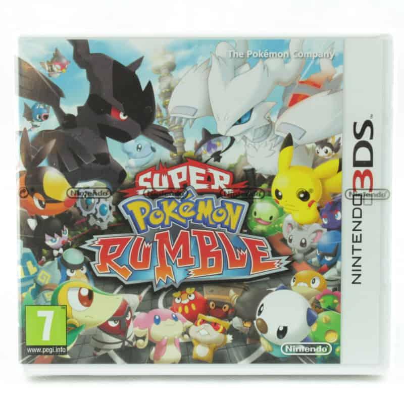 Super Pokémon Rumble (Nintendo 3DS)